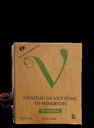 Fontaines ventenacoises - BIB 3L - blanc - conversion bio