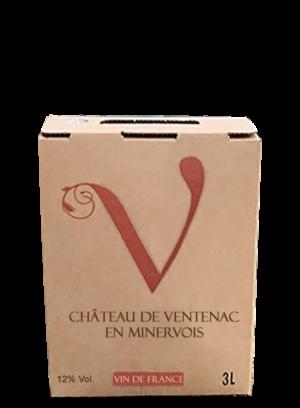 Fontaines ventenacoises - BIB 3L - rouge