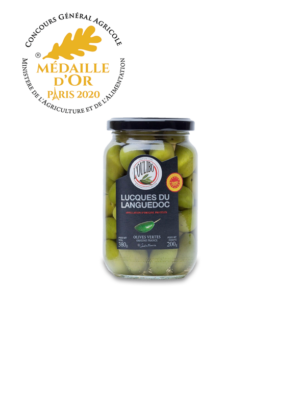 Olives lucques oulibo - Médaille d'or 2020